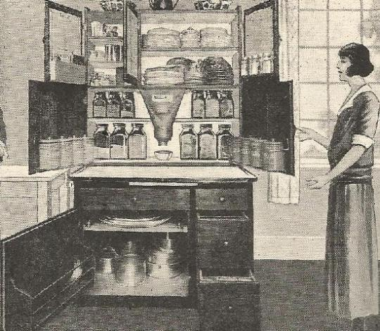 1920s kitchen Easiwork advert