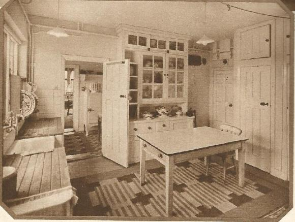 1940s kitchen