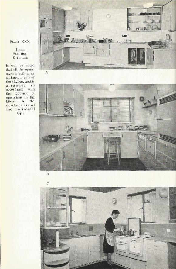 1940s electric kitchen