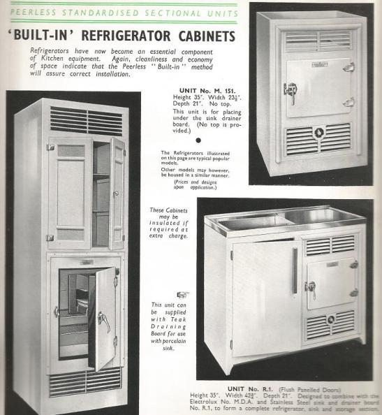 1930s fridges