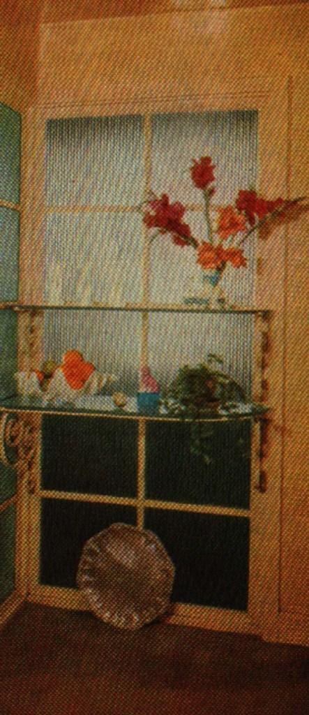 Reeded Glass Shelves